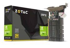 ZOTAC GeForce GT 710 2GB 64-bit DDR5 ZONE Edition PCIe HDMI/VGA/DVI Graphic Card
