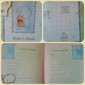 [NEW IN PACK] Disney Sincerely Pooh Baby Memory Book ***LIMITED/RARE***