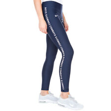 Women's Nike Dallas Cowboys Core Power Tights Pants Gym Navy Blue Size XXL 2XL