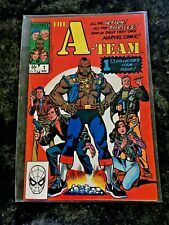 A-Team #1 Marvel 1984 Collectors Issue Mr T Nm