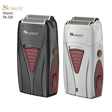 SURKER Mens Electric Shaver Cordless Dual Foil Comfort Cut Razor Rechargeable