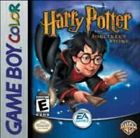 Harry Potter And The Sorcerer's Stone - Game Boy Color