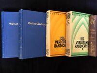 KONVOLUT ★ Gustav FREYTAG ★ 6 Bände ★ DIE AHNEN ★ SOLL & HABEN ★ HANDSCHRIFT!