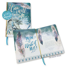 Can I Will Unicorn Mystic Spirit  100 Blank Page Hard Cover Journal Lisa Pollock