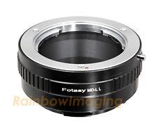Minolta MD Rokkor Lens to Leica L Mount Camera Adapter fit Leica TL2 TL T CL SL