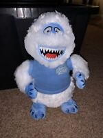 """Bumble Abominable Snowman Rudolph The Red Nosed Reindeer Misfit 11"""" Plush Nose"""
