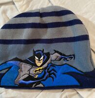 Batman DC Comics Embroidered Knitted Beanie Hat Cap Justice League
