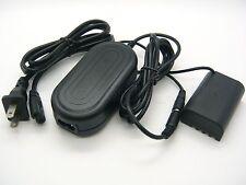 AC Adapter DMW-AC8 + DC Coupler For Panasonic Lumix DMC-GH4 DMC-GH4K DMC-GH5