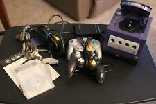 Nintendo Game cube console, controllers, Gameboy attachment