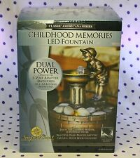 Childhood Memories LED Fountain Feng Shui Soothing Relaxing Sounds of Water NEW