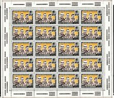 Yemen Kingdom South Arabia Sheet Stamps Set Astronauts Full Sheet MNH High value