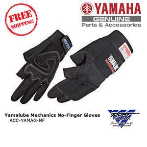 Yamalube Mechanics Safety Gloves No Finger ACC-YAMAG-NF
