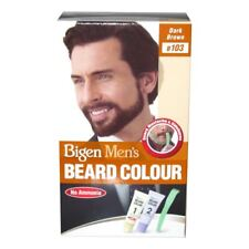 Bigen Men's Beard Colour Brown Black - B102 1
