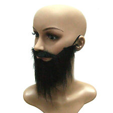 Funny Fancy Halloween Party Fake Beard Moustache Mustache Facial Hair Costume CH