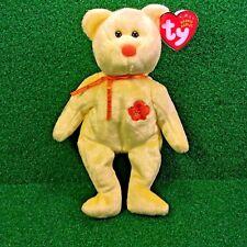 NEW Ty Beanie Baby Bunga Raya The Bear Retired Plush Toy - MWMT - FREE Shipping