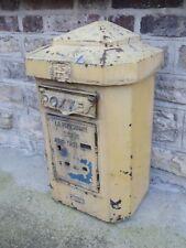 ancienne boite aux lettres POSTE PTT ETS FOULON FILS deco loft industriel