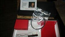 Johnny-Coffret-Bracelet métal mémoratif+Chaîne plaque+Croix+Bague tete de mort-