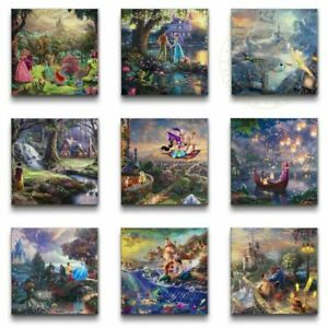 Thomas Kinkade Disney 14 x 14 Wraps Choose One From 9 Choices