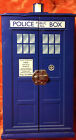 "Doctor Who Tardis Police Box Cardboard Jewelry Box ~ EXCELLENT ~ 10""x5""x5"""