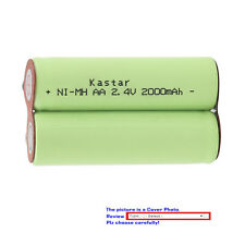 Kastar Ni-MH 2000mAh Battery for Ronson RR3 Sanyo 9307 Schick F34 Schick F40
