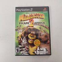 Madagascar: Escape 2 Africa (PlayStation 2, PS2 2008) FACTORY SEALED! - EX!