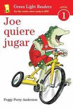 JOE QUIERE JUGAR / JOE WANTS TO PLAY