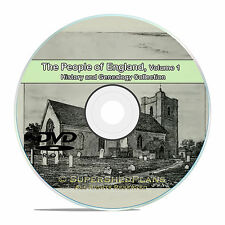 England Vol 1, People Family Tree History and Genealogy 215 Books DVD CD B31
