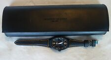 Montres De Luxe Mens GMT Estremo Black orange Watch  NEW