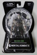 ESZ3149. MORAL KOMBAT X Quan Chi Action Figure by MEZCO TOYS (2015) @