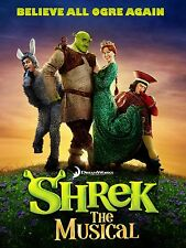 "Shrek the Musical 16"" x 12"" Reproduction Poster Photograph"