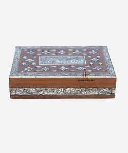 Antique Bone inlay Hand Painting Home Decorative Gifts Box Jewelry Box