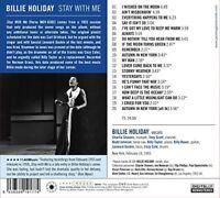 Billie Holiday - Stay With Me [New CD] Bonus Tracks, Deluxe Ed, Rmst, Digipack P