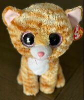 Ty Beanie Boo Tabitha Brown Blonde Cat 9 inch Buddy Plush with Tag