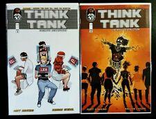 THINK TANK #3 & 4 (IMAGE / TOP COW Comics) ~ NM Comic Book