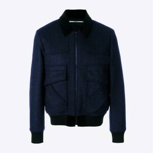 Kenzo Patch Bomber Jacket - Navy - WAS £660, NOW £280 REDUCED TO CLEAR!!