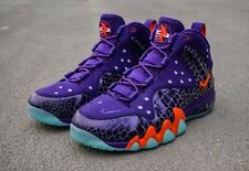 NIKE~Barkley Posite Max Godzilla Suns~Size 12.5~Purple/Orange~Area 72~Deadstock
