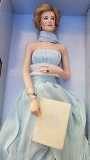 Diana Princes of Wales porcelain doll Franklin Mint