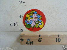 STICKER,DECAL PIN-UP GIRL G
