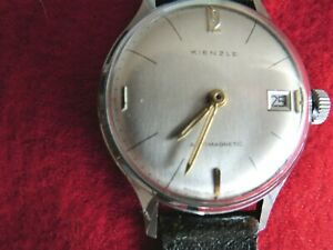 Kienzle Armbanduhr ANTIMAGNETIC   Handaufzug, ca. 1960 Kaliber. 0510/52