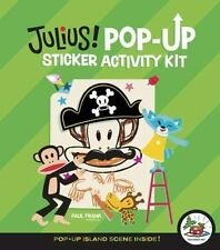 Julius Pop-Up Sticker Activity Kit by Paul Frank c2009 NEW, Free Shipping