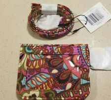 VERA BRADLEY Campus Double ID Case AND Lanyard in RESORT MEDALLION NWT