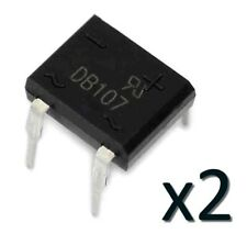2x Pont de diode DB107 1A 1000V DIP4 - 2pcs Single Phase Diode Rectifier Bridge