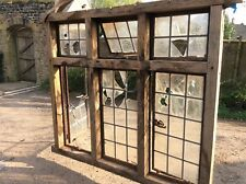 More details for oak and steel framed arts and crafts styled window