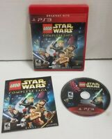 LEGO Star Wars: The Complete Saga Sony PlayStation 3 PS3 COMPLETE MINT DISC EUC