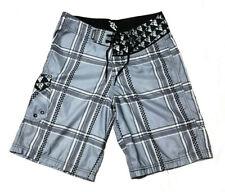Da Hui (Hui O Hee Nalu) Hawaii Embroidered Men's Board Shorts Size 30