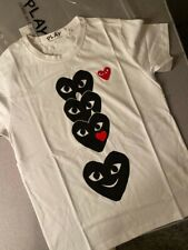 PLAY COMME DES GARCONS T-SHIRT  SMLXL