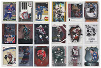 Joe Sakic Inserts Parallels SP Rare Numbered - Choose From List - See Scans