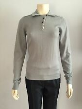 Dolce and Gabbana , AUTHENTIC, VIRGIN WOOL & SILK LONG-SLEEVE  TOP