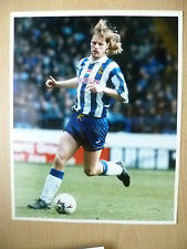 Stampa FOTO ORIGINALE (8x10) - Andy Pearce, Sheffield Wednesday FC