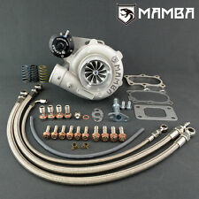 MAMBA GTX Ball Bearing 400HP TURBO + BRAIDED LINE KIT FOR SKYLINE RB25 RB20 RB30